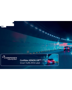 Confidex Xenon VIP RFID Tag Smart Traffic Internet of Things Fahrzeug Verkehr